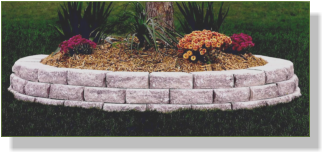 Elegant Aspen Stone Retaining Wall Block Are A Natural Looking, Lightweight Choice  For Decorative Garden Walls Up To Two Feet Tall. Aspen Stone Offer Blended  Colors ...